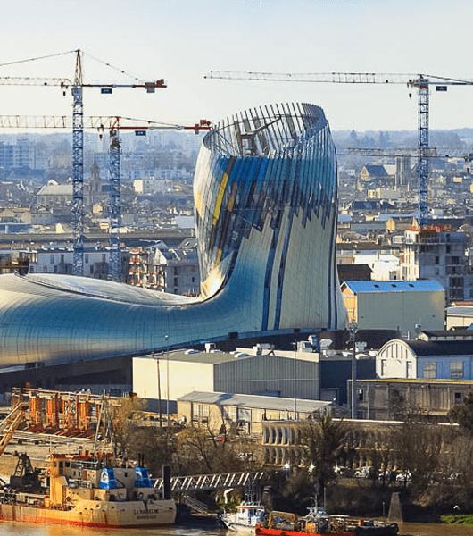 vue de Bordeaux metropole : bilan des implantations économiques