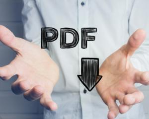 pdf numérisation
